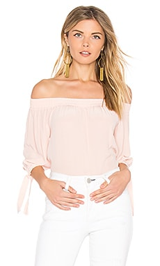 Beaumont Off the Shoulder Top in Rose