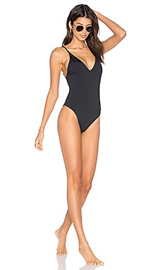 The Danny One Piece in Black