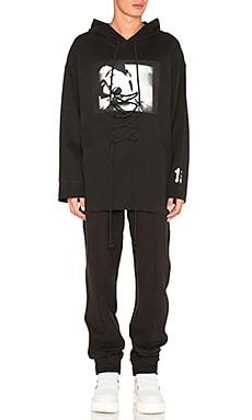 Худи с графикой длинным рукавом и шнуровкой - Fenty by Puma 573406 01