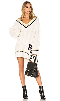 V Neck Cable Knit Sweater Fenty by Puma $442