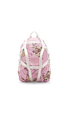 Parachute Backpack in Silver Pink