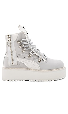 Sneaker Boot in White