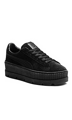 Cleated Creeper Suede Sneaker