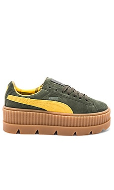 Cleated Suede Creeper