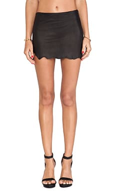 Wolfpack Leather Skirt