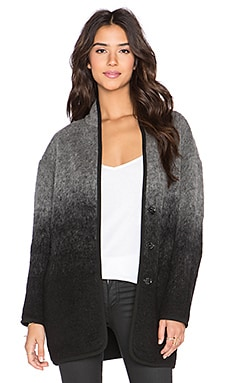 Fifteen Twenty Mohair Travel Jacket in Charcoal