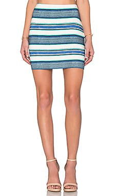 Fifteen Twenty Mini Skirt in Stripe