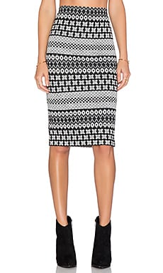 Fifteen Twenty Midi Skirt in Multi