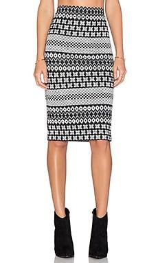 Fifteen Twenty Midi Skirt in Multi