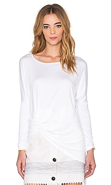 Fifteen Twenty Dolman Pick Up Top in Off White