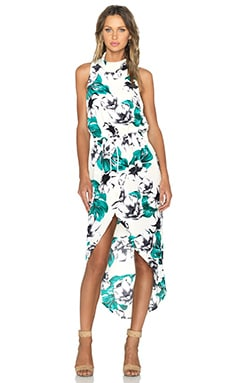 The Fifth Label Jupiter Sunshine Maxi Dress in Light Jungle Print