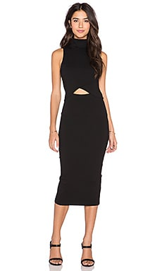 The Fifth Label White Light Dress in Black