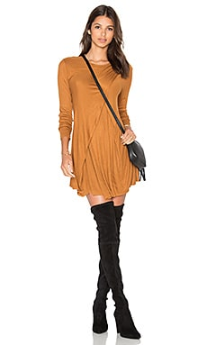 The Fifth Label Stop Start Dress in Toffee