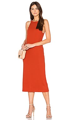 Three Days Dress in Burnt Orange