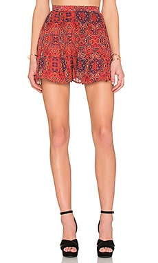 Age of Aquarius Short en Moroccan Print