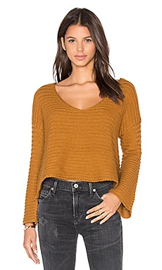 The Fifth Label Alpine Knit Sweater in Toffee