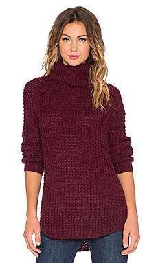 The Fifth Label Transit Knit Pullover in Burgundy