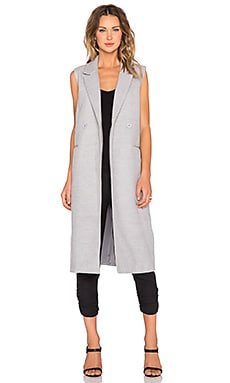 The Fifth Label New Moon Vest in Grey Marle