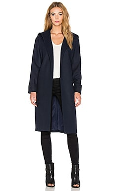 The Fifth Label Night Call Coat in Navy