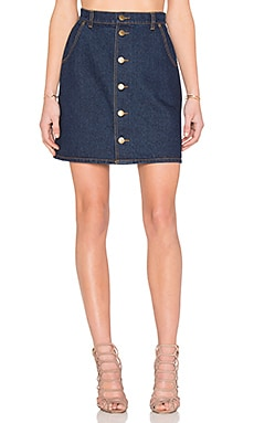 The Fifth Label Downtown Skirt in Dark Denim