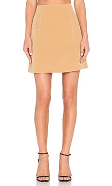 The Fifth Label Front Row Skirt in Oak