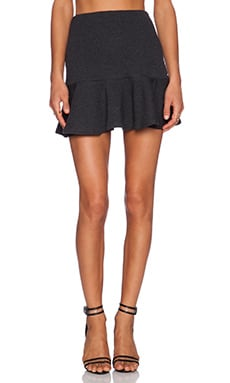 The Fifth Label Revolution Skirt in Charcoal Marle
