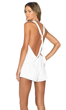 Stella Playsuit in Ivory