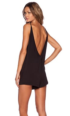 The Fifth Label Play It Right Playsuit in Black