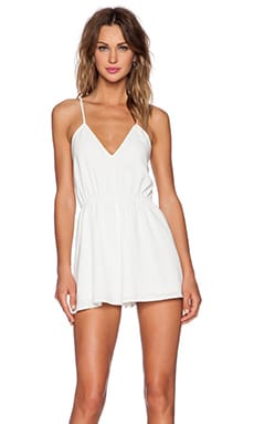 The Fifth Label Dreamshaker Playsuit in Ivory