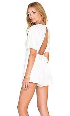 The Fifth Label Modern Love Romper in Ivory