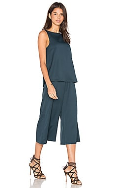 Dream Days Jumpsuit en Bleu Canard Foncé