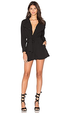 The Fifth Label Fever Dreams Playsuit in Black