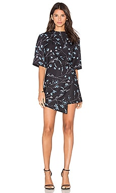 The Fifth Label Lightest Sky Playsuit in X Ray Bloom Print