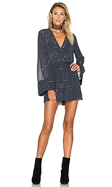 Someone Sometime Romper in Grid Print