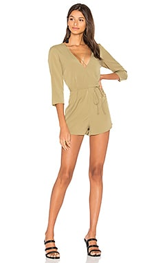 Maverick Romper in Khaki