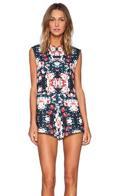 The Fifth Label Moon Safari Playsuit in Floral Print