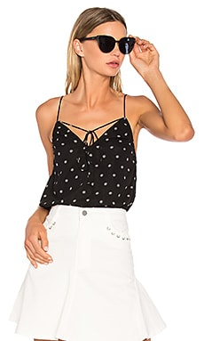 Midnight Memories Cami in Black Daisy Print