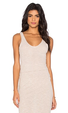 The Fifth Label Delilah Singlet Top in Oatmeal