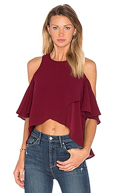 The Fifth Label Lovers & Friends Top in Burgundy