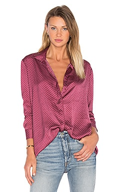 The Fifth Label Abstraction Top in Dark Polka Dot