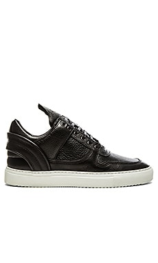 Filling Pieces Low Top Transformed Basic in Black