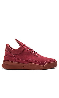 Filling Pieces Low Top Ghost in Bordeaux