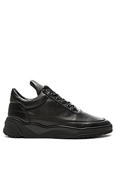Filling Pieces Low Top Astro in All Black