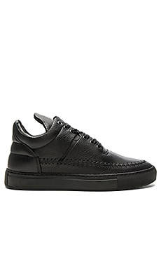 Filling Pieces Low Top Doble in Black
