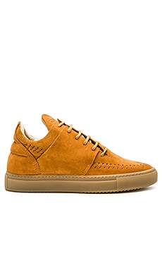 Filling Pieces Low Top Apache Suede in Cognac