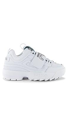 Disruptor II Applique Sneaker Fila $60