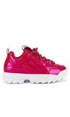 Disruptor II Liquid Luster Sneaker Fila $60