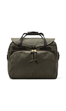 Padded Laptop Bag in Otter Green
