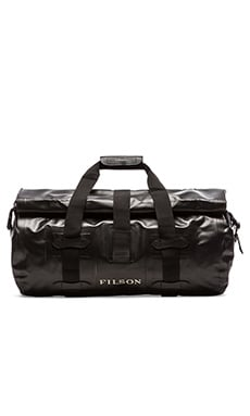 Filson Medium Dry Duffle in Black