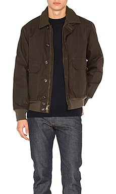 Ranger Oil Cloth Bomber